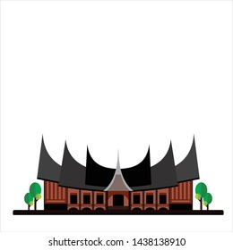 gadang images stock photos vectors shutterstock https www shutterstock com image vector indonesian traditional house rumah gadang 1438138910