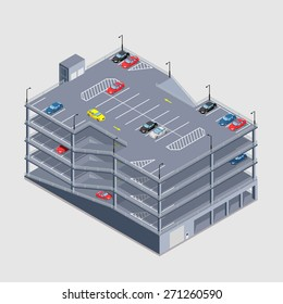 indoor multi-storey car park