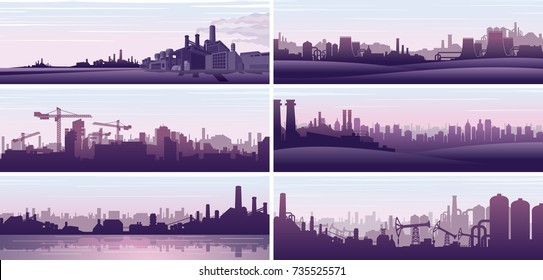 Industrial Backgrounds. Business Background. Urban Backgrounds. Abstract Vector Background for Banners