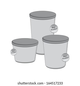industrial container packaging set part one