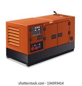 industrial diesel power generator