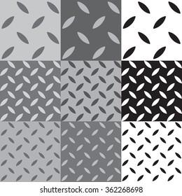 Industrial floor pattern, Metal texture, Metal Background, Plate Vector