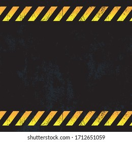 Industrial grunge with warnings vector