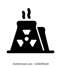 industrial icon - vector industry reactor sign symbol. industrial drilling illustration isolated, silhouette oil rig