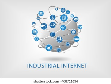 Industrial internet concept