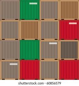 industrial patchwork pattern, vector illustration, design elements