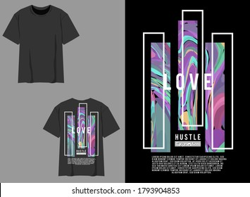 Industrial Streetwear Graphic Design Abstract Love Design