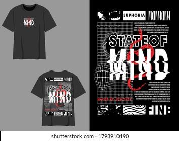 Industrial Streetwear Graphic Design State of Mind Design