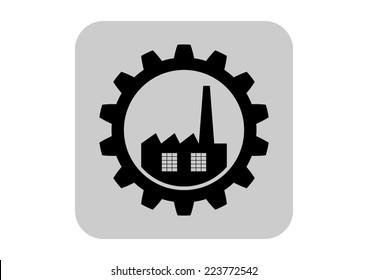 Industrial vector icon