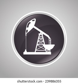Industry design over gray background, vector illustration.