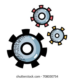 industry gears process to technical engine equipment