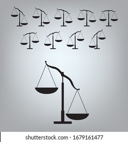 Inequality Icon Justice Animation Frame Vector