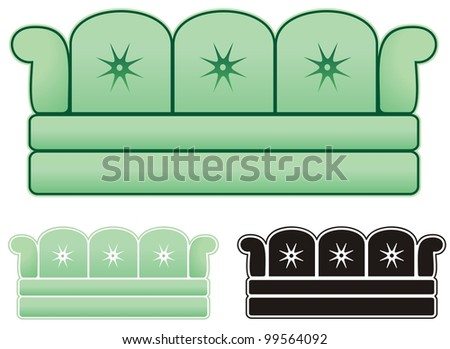 infamous ugly sofa great decorating business stock vector royalty rh shutterstock com Business Card Graphics Small Business Clip Art