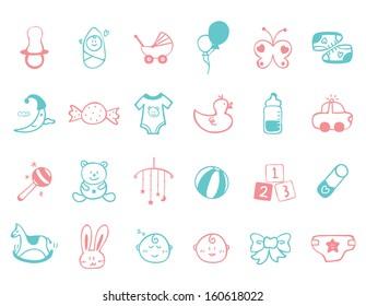 infant Icon set
