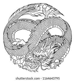 falcor the luck dragon coloring pages | แฟ้มผลงานของNipatsara Bureepiaใน Shutterstock