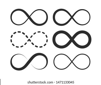 Infinity, eternity symbol. Premium quality vector illustration for your design.