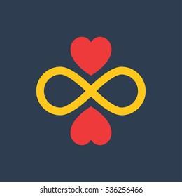 Infinity Icon Vector