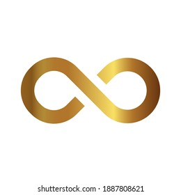 Infinity loop icon. concept of unlimited. vector illustration