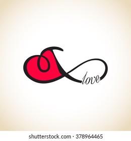Infinity love, forever love