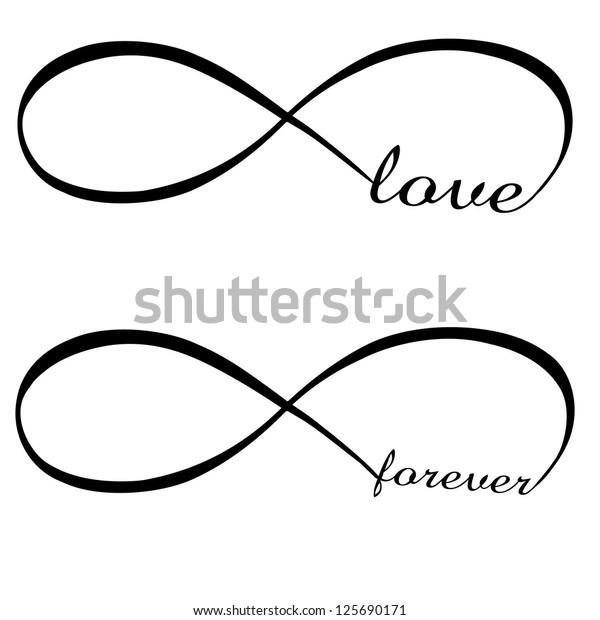 Zeichen unendliche liebe Das Unendlich