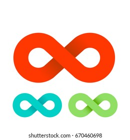 infinity sign vector illustration