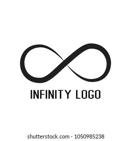 infinity symbol logo.for start up company