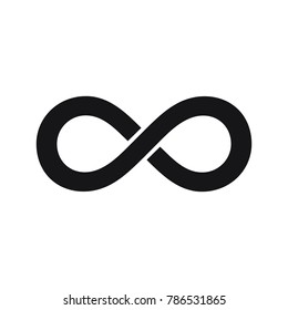 infinity symbol or sign, infinity icon,