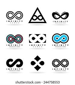 Infinity symbols (3)
