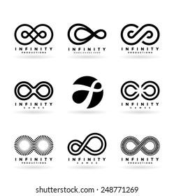 Infinity symbols (4)