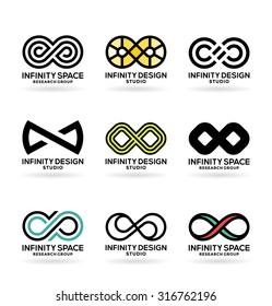 Infinity symbols (6)