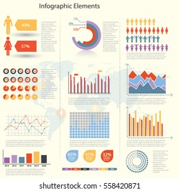 Info graphics Elements - Illustration