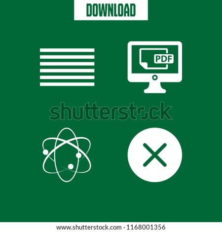 Info Icon 4 Info Vector Set Stock Vector (Royalty Free) 1168001356