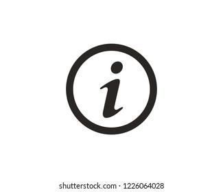 Info icon sign symbol