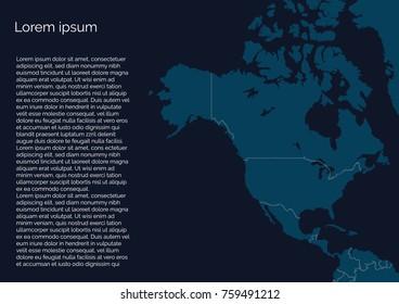 Info map of america