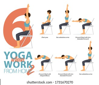 chair yoga images stock photos  vectors  shutterstock