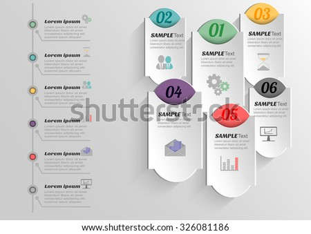 Infographic banners templates business vector label design stock infographic banners templates for businessctor label design element wajeb Gallery