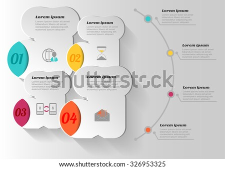 infographic banners templates vector socks design element stock