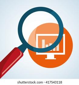 Infographic design. data icon.  business concept. , vector illustration
