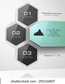 Infographic design on a white background