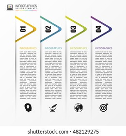 Infographic design template. Business concept. Vector illustration