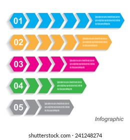 Info-graphic design template. Idea to display, ranking and statistics.