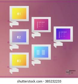 Infographic design vector illustration, eps 10.