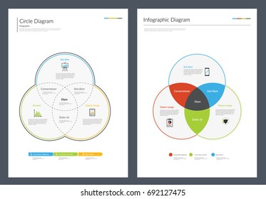 Infographic Diagram Chart. Vector illustration