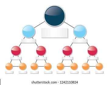 infographic diagram organigram chart structure