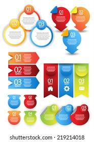 Info-graphic element set