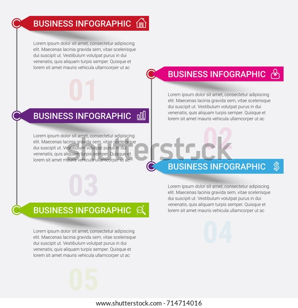 Infographic Elements Design Stock Vector  Royalty Free