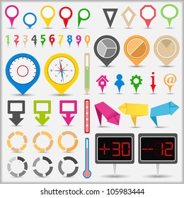 Infographic Elements, vector eps10 illustration