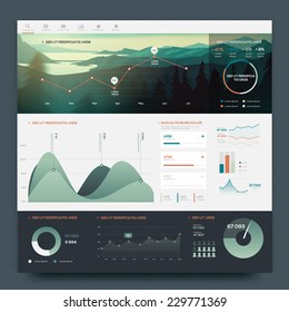 Infographic elements for your projects. Vector