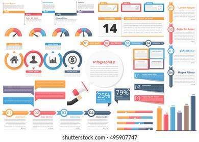 Infographic elements-timeline, process charts, workflow diagrams, steps, options, indocators, bar graph, vector eps10 illustration