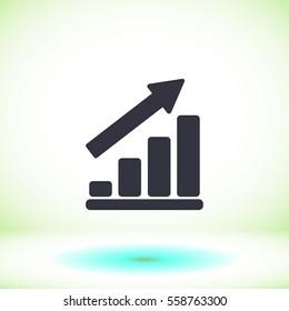 Infographic icon. vector 10 EPS